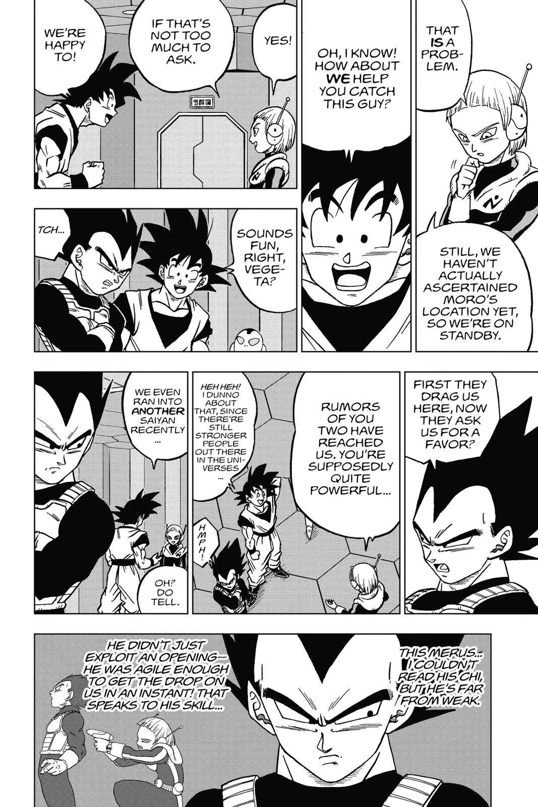 Dragon Ball Super Chapter 43 Page 18