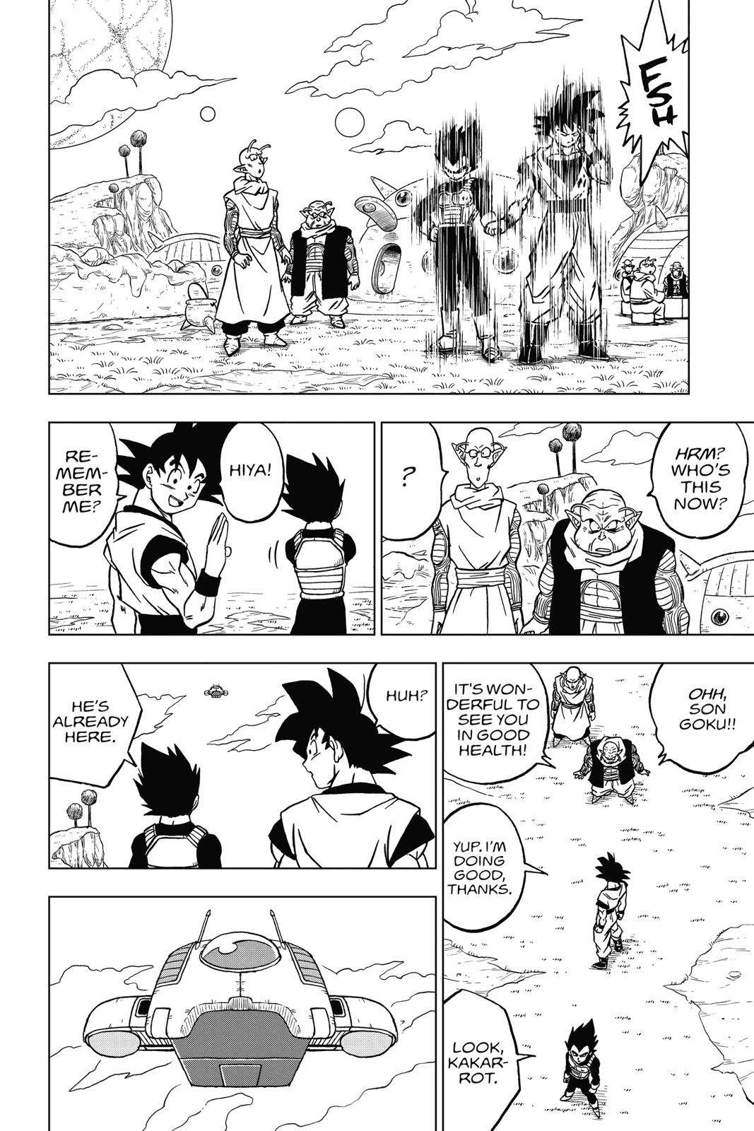 Dragon Ball Super Chapter 44 Page 18