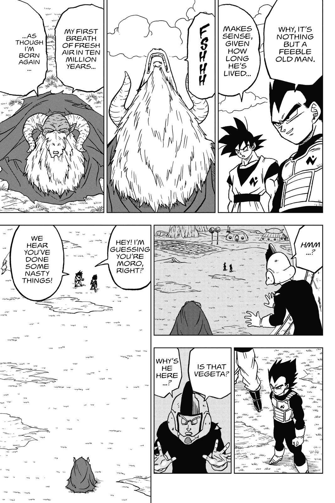 Dragon Ball Super Chapter 44 Page 23