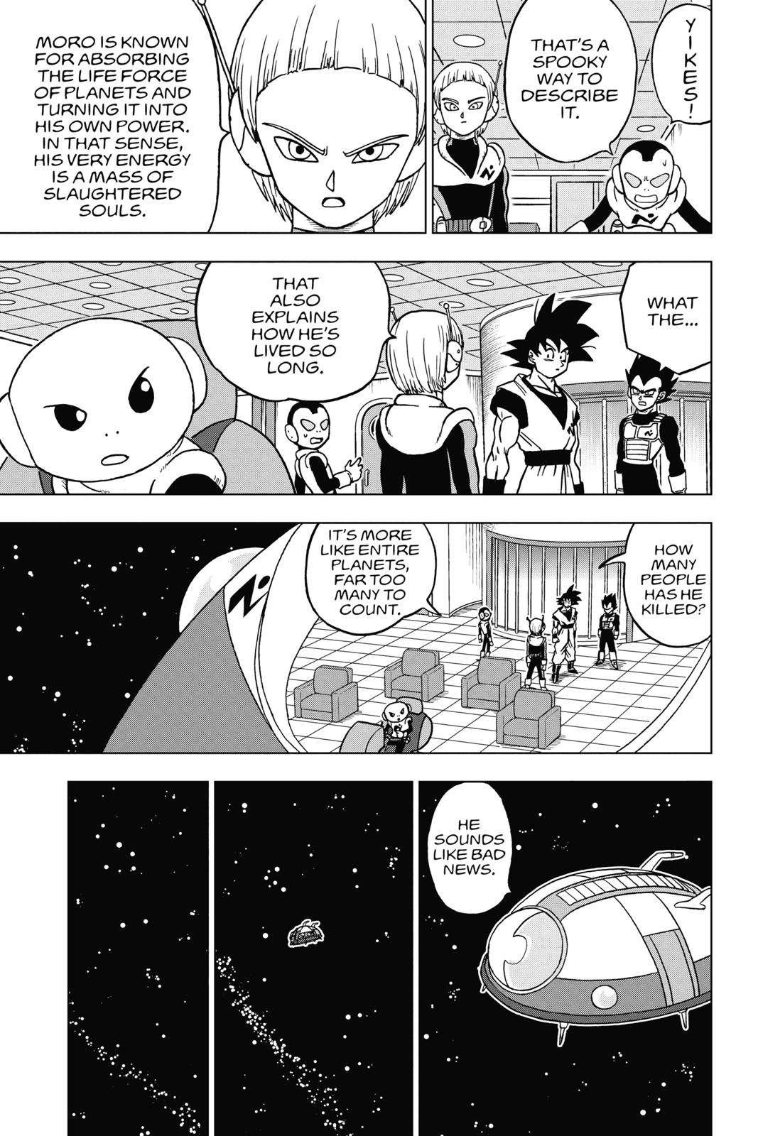 Dragon Ball Super Chapter 44 Page 3
