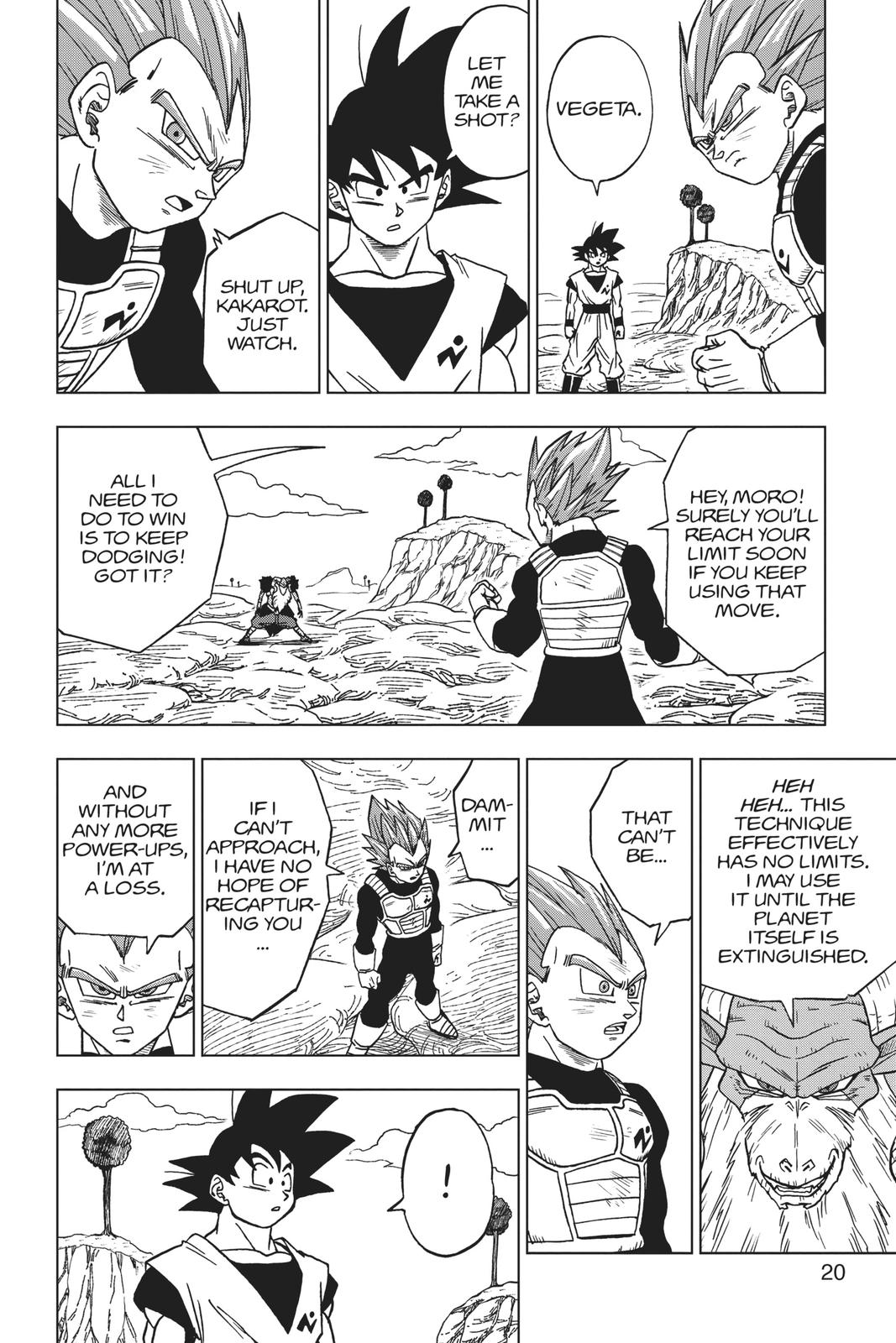 Dragon Ball Super Chapter 45 Page 21