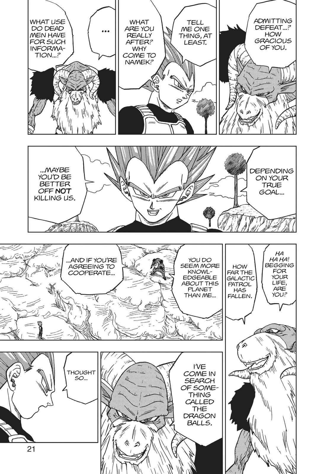 Dragon Ball Super Chapter 45 Page 22
