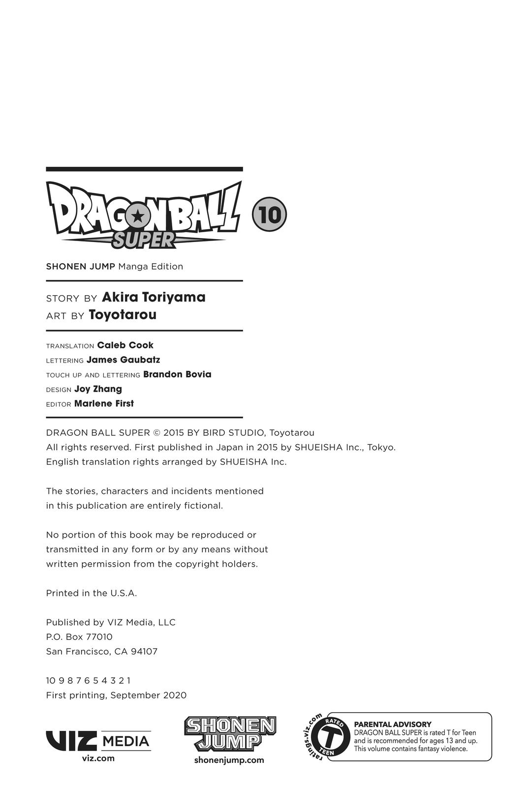 Dragon Ball Super Chapter 45 Page 3