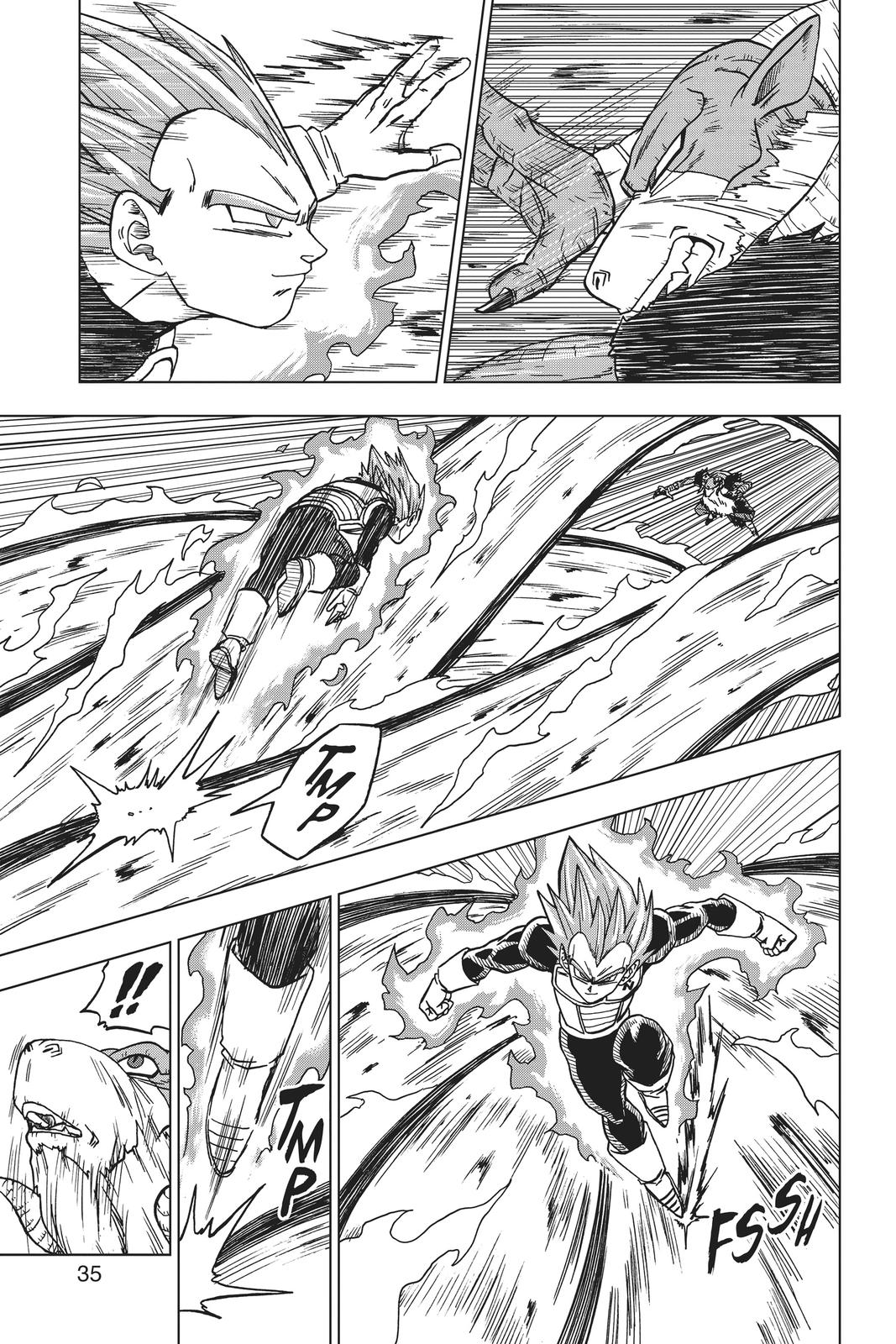 Dragon Ball Super Chapter 45 Page 36