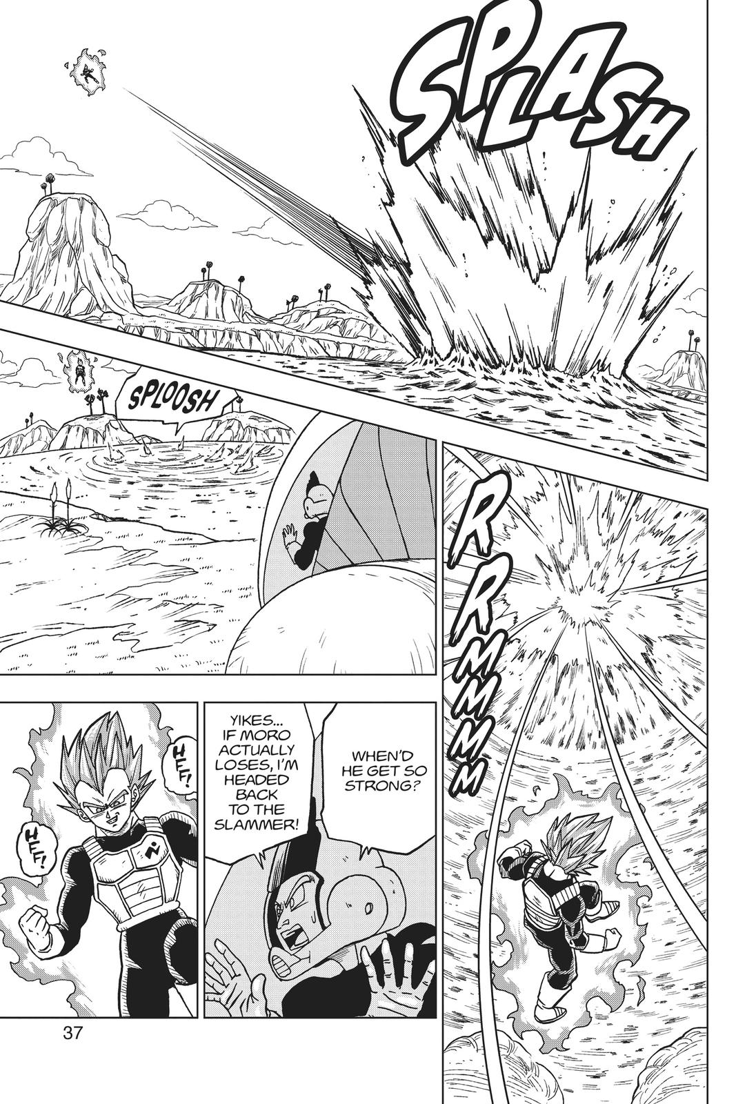 Dragon Ball Super Chapter 45 Page 38