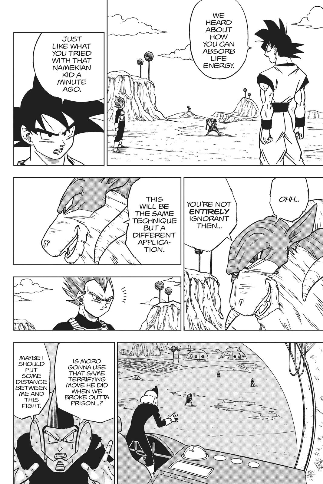 Dragon Ball Super Chapter 45 Page 9