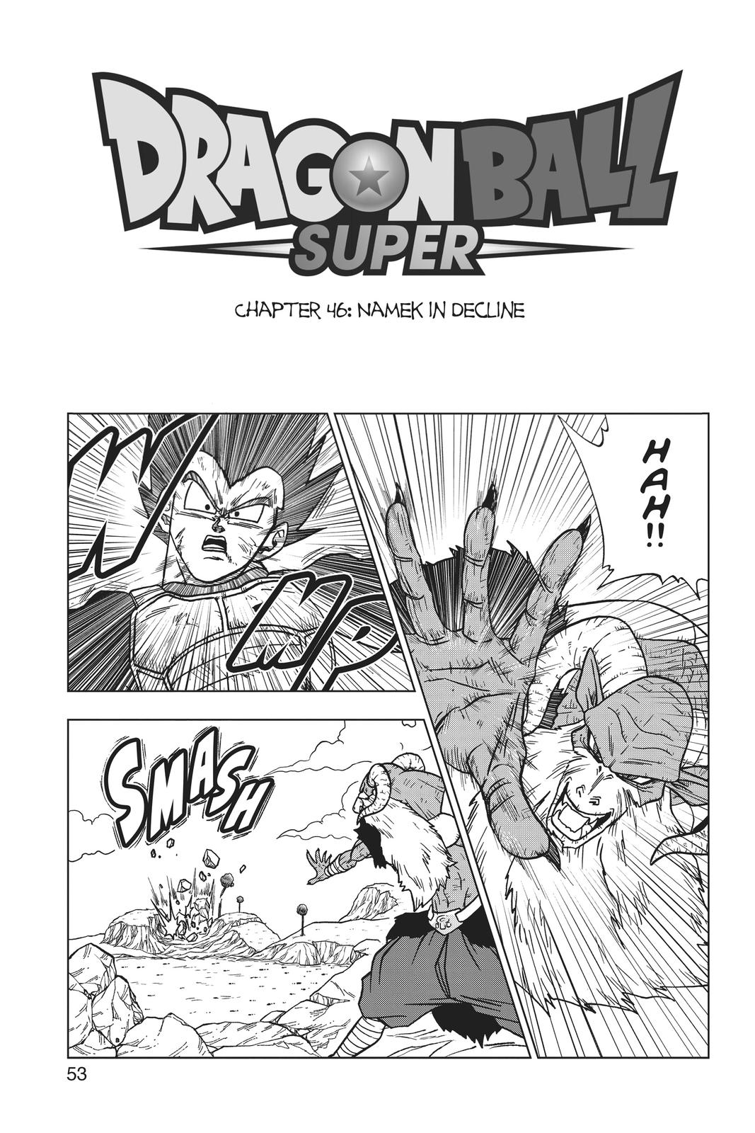 Dragon Ball Super Chapter 46 Page 1