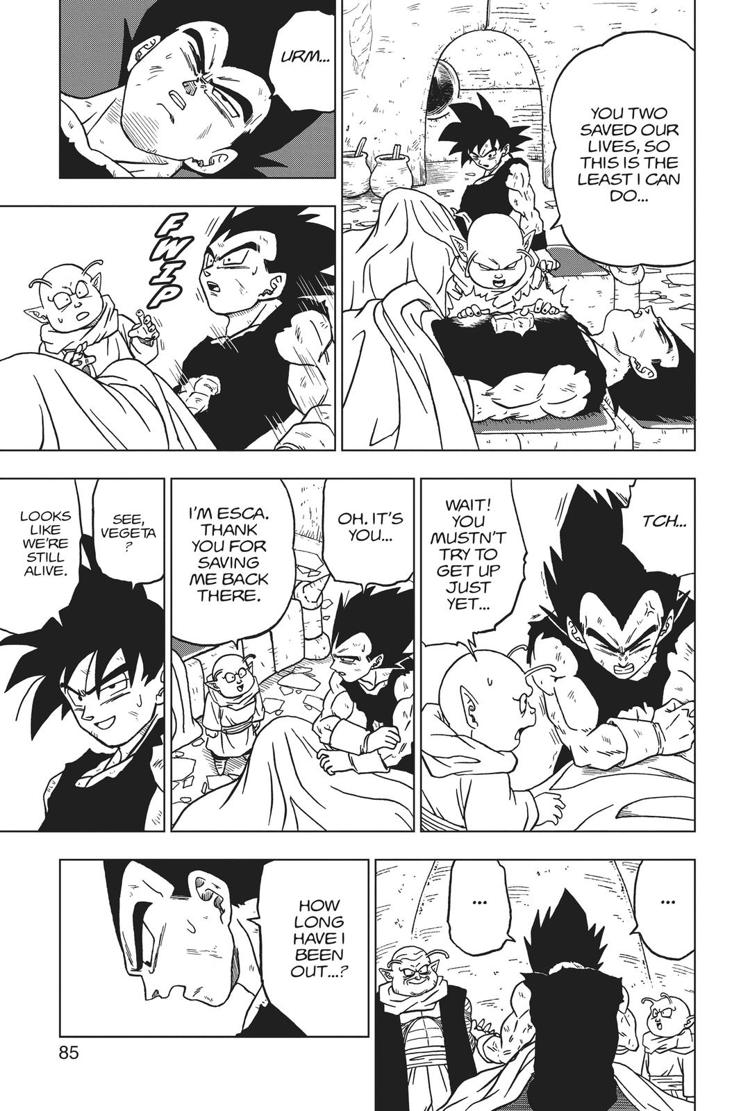 Dragon Ball Super Chapter 46 Page 33