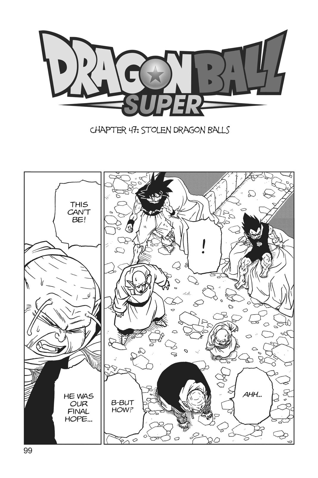 Dragon Ball Super Chapter 47 Page 1