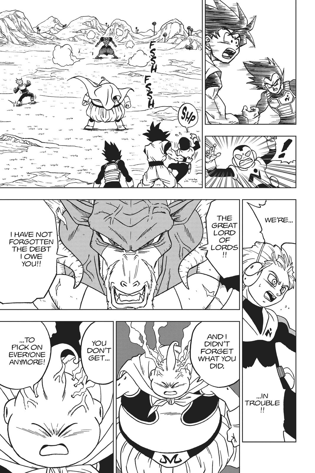 Dragon Ball Super Chapter 47 Page 35