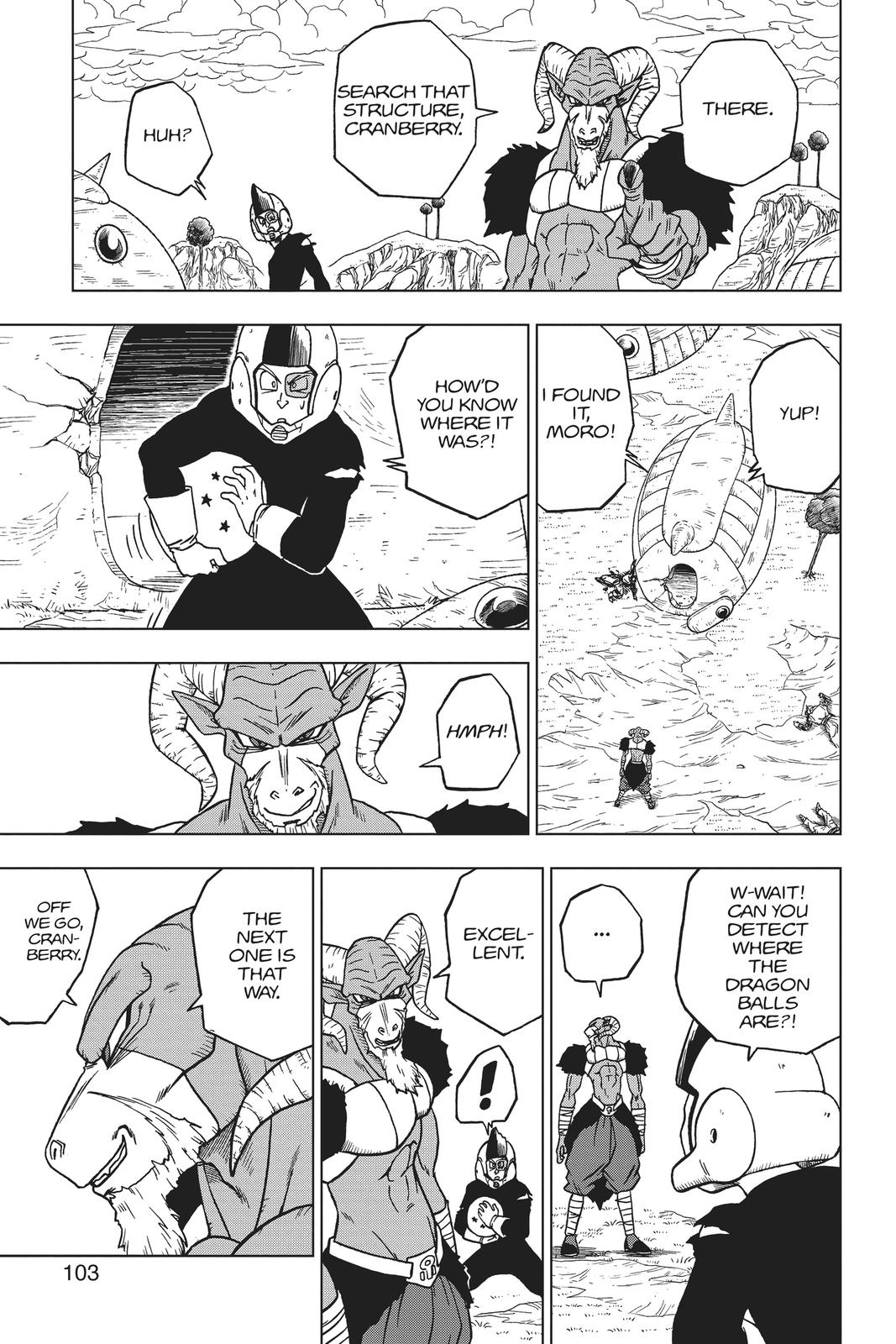 Dragon Ball Super Chapter 47 Page 5