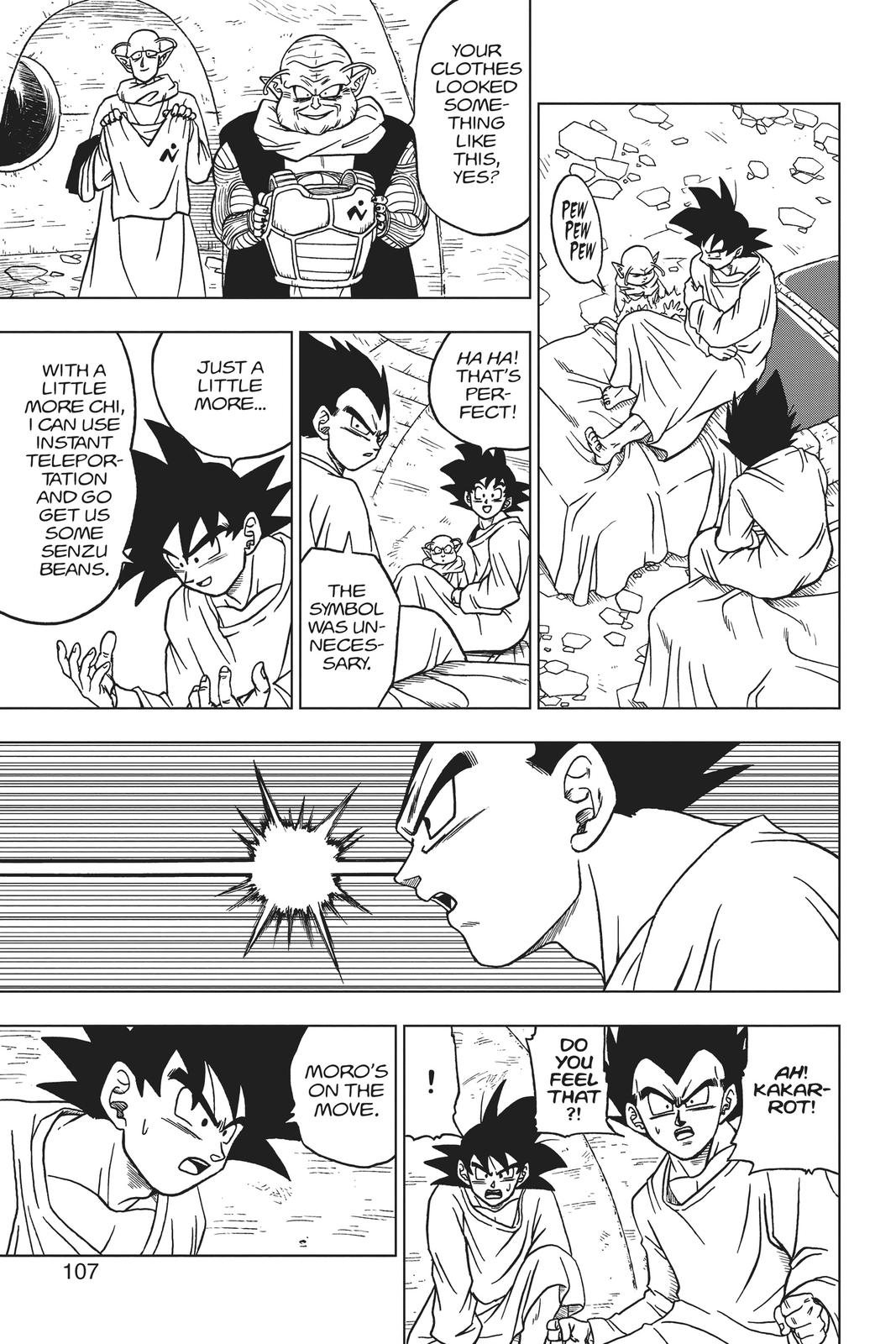 Dragon Ball Super Chapter 47 Page 9
