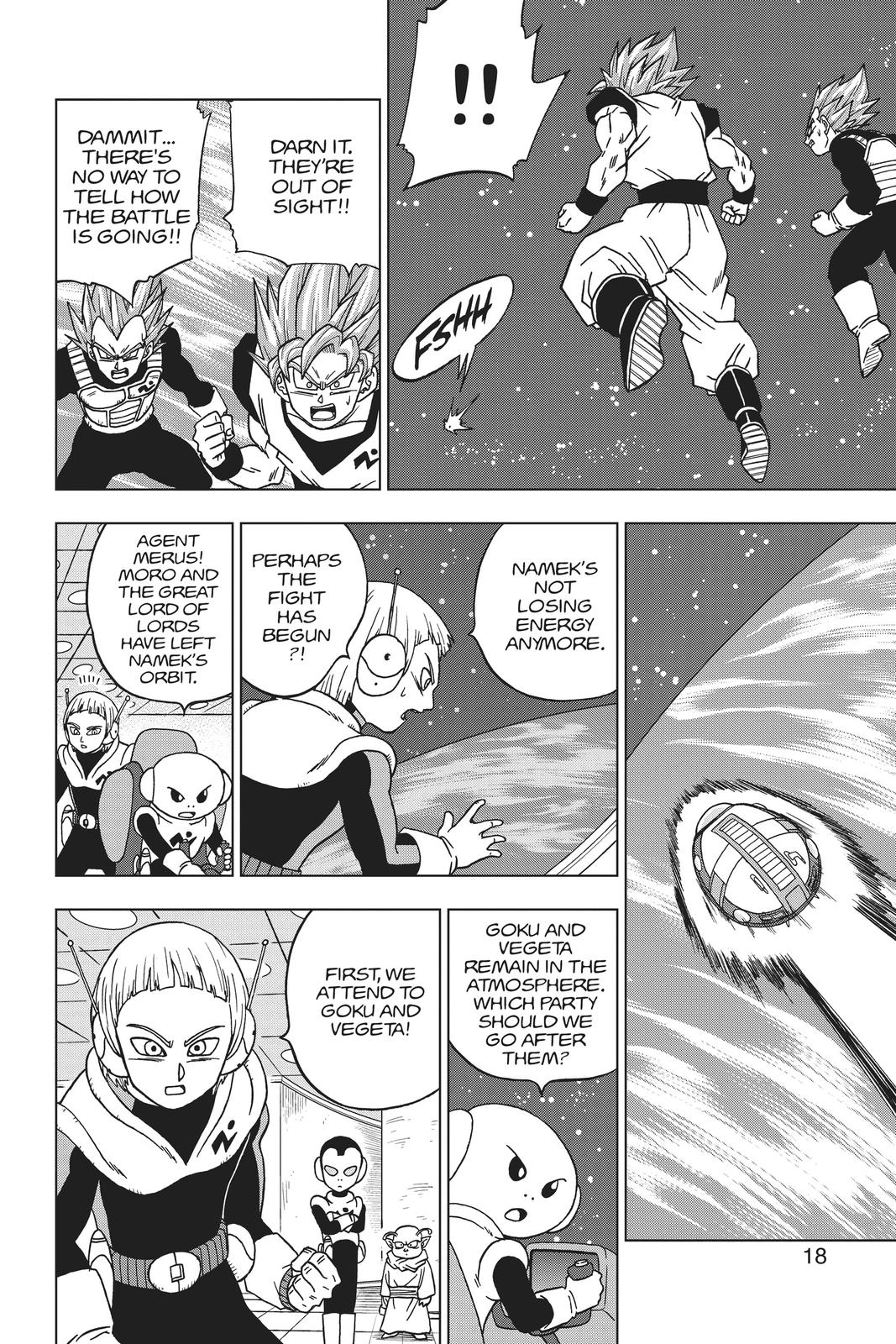 Dragon Ball Super Chapter 49 Page 19