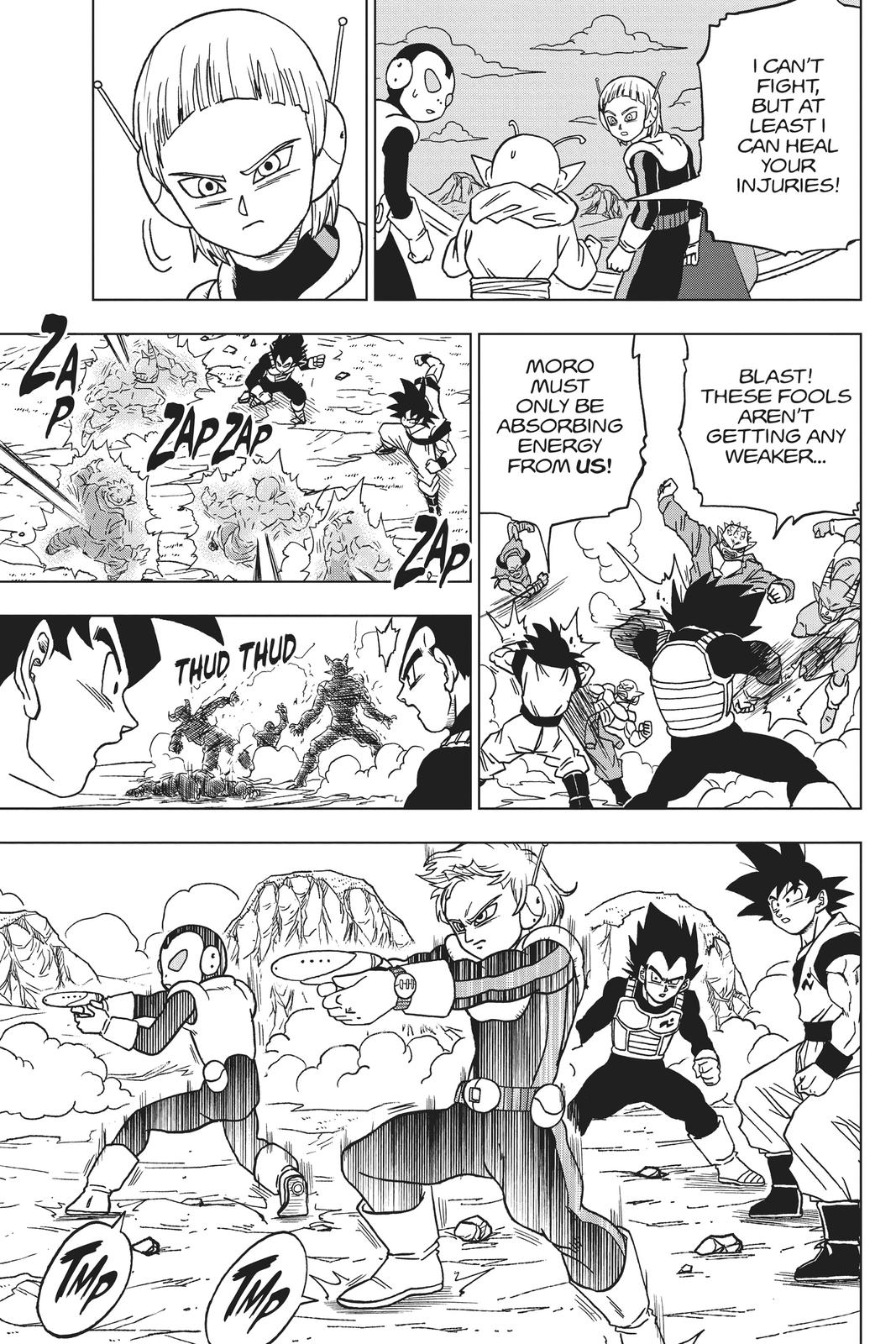 Dragon Ball Super Chapter 50 Page 33