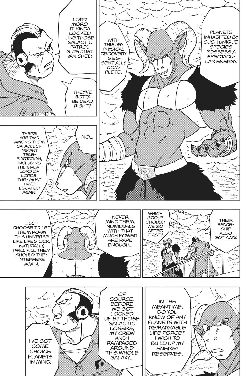 Dragon Ball Super Chapter 51 Page 3