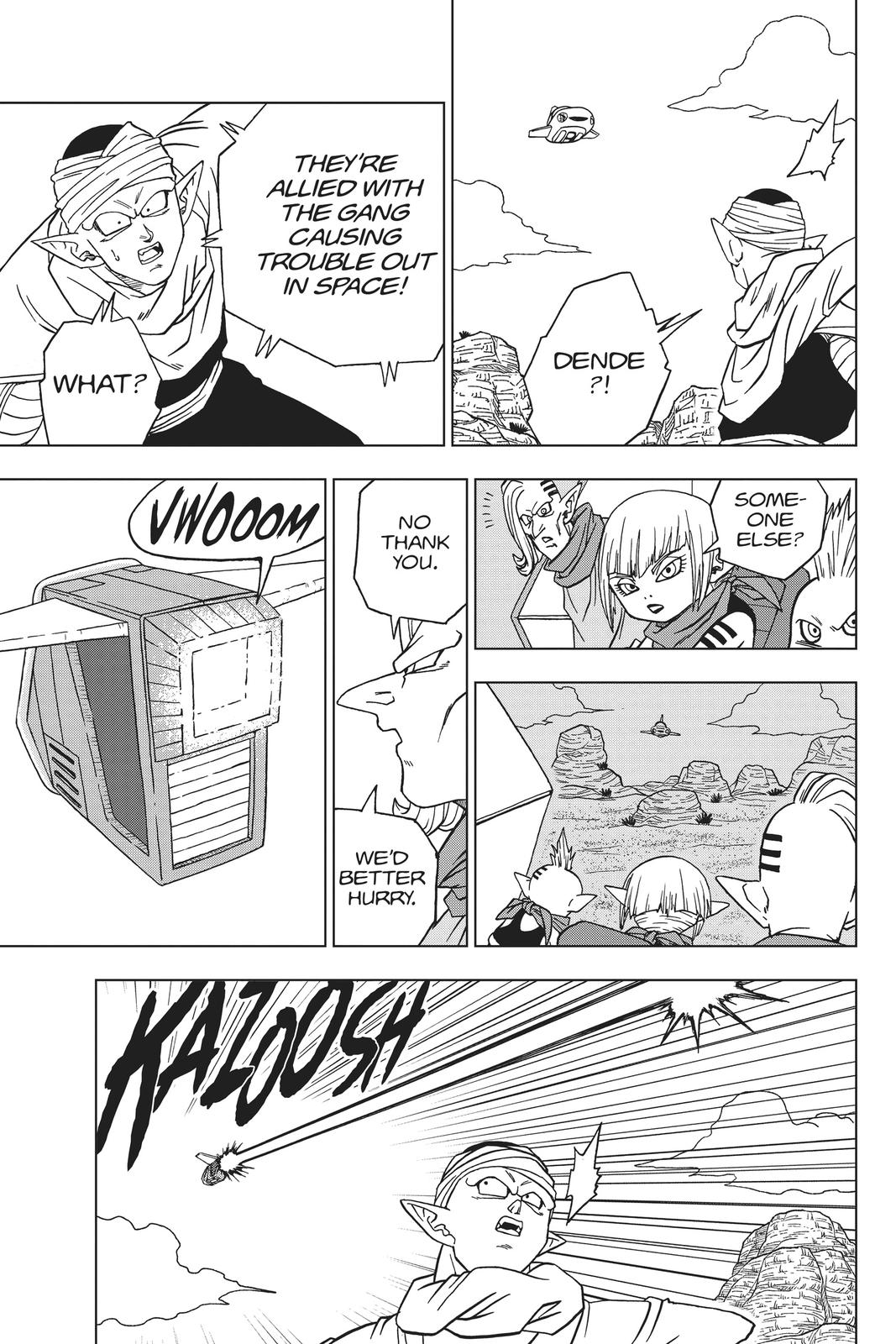 Dragon Ball Super Chapter 52 Page 33