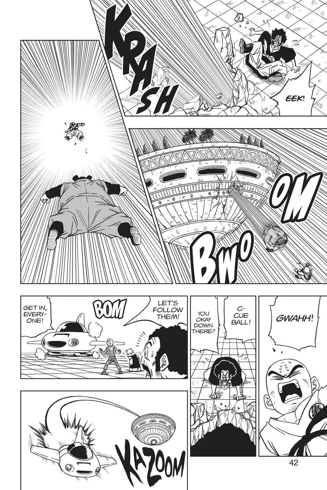 Dragon Ball Super Chapter 53 Page 43