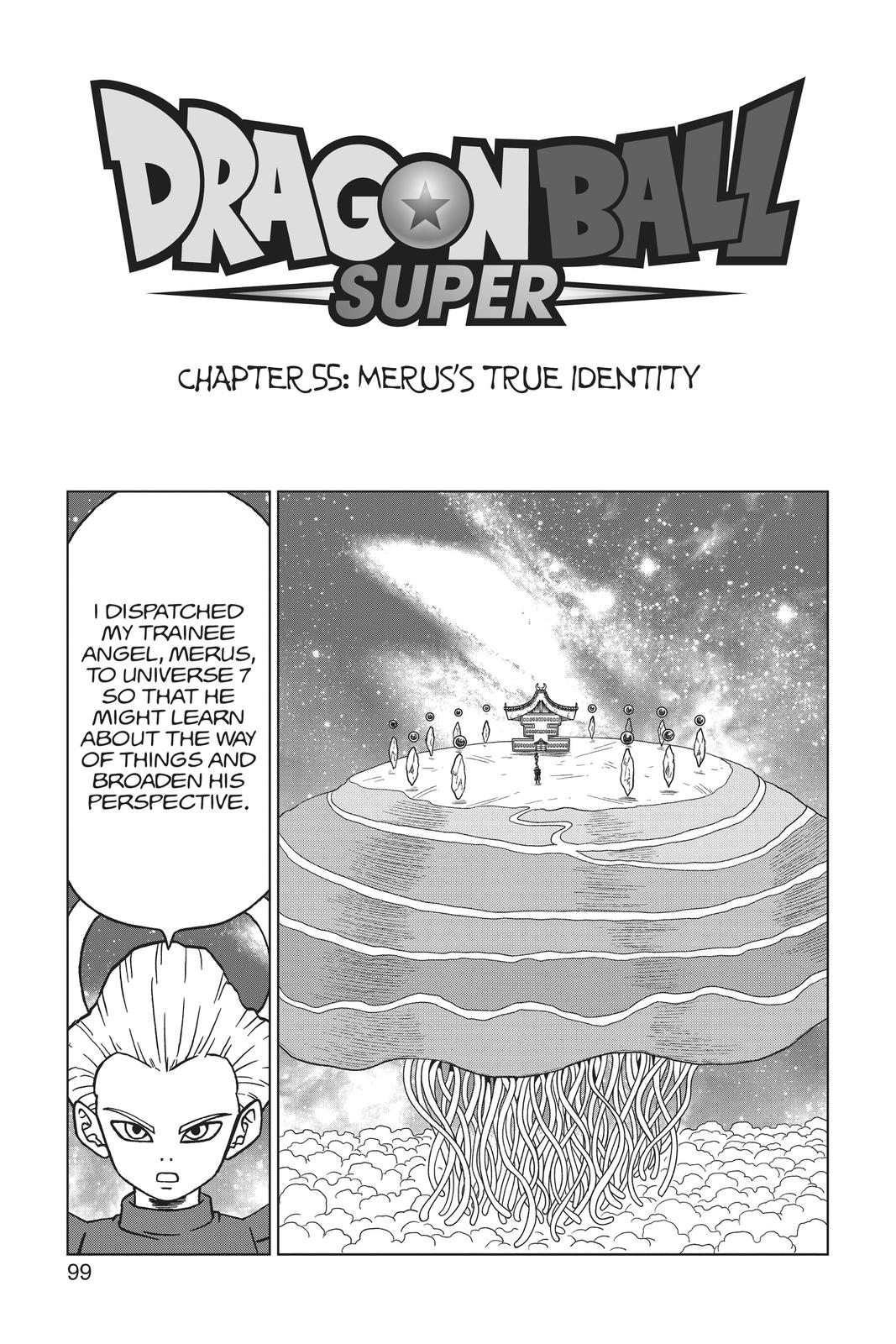 Dragon Ball Super Chapter 55 Page 1