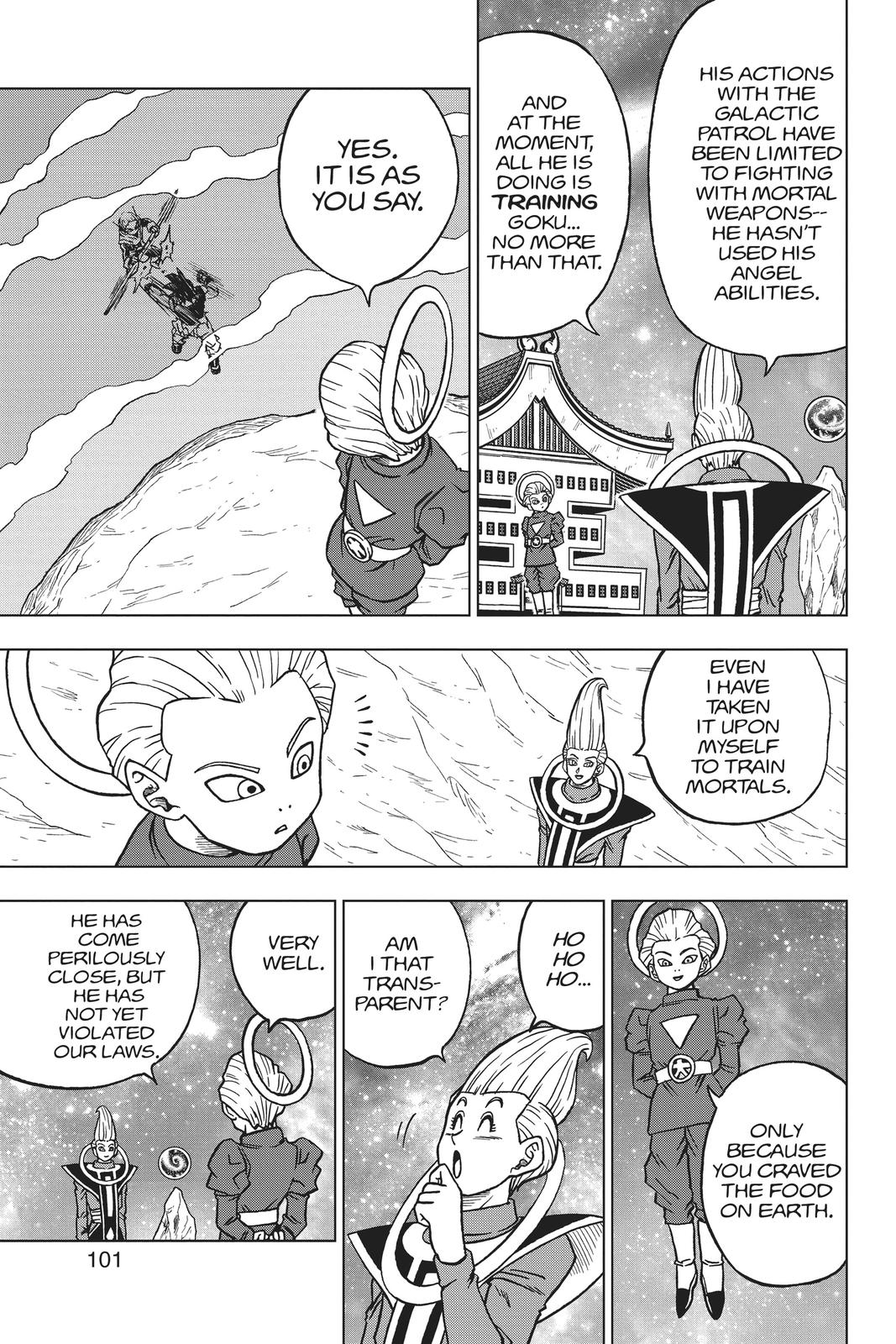 Dragon Ball Super Chapter 55 Page 3