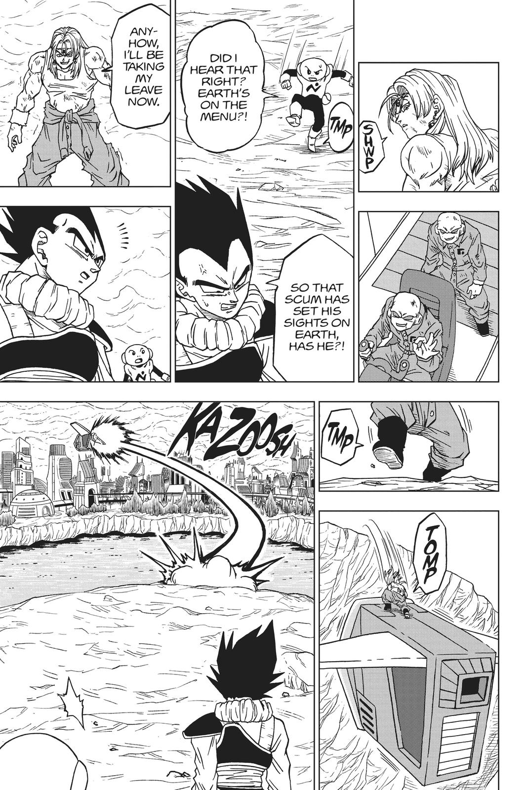 Dragon Ball Super Chapter 55 Page 31