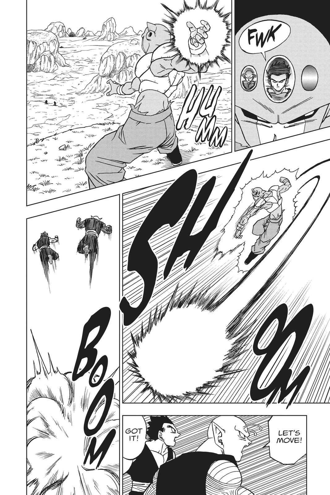 Dragon Ball Super Chapter 56 Page 27