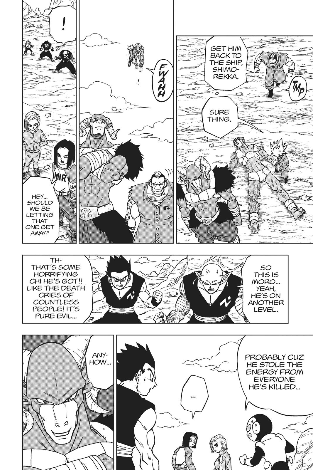 Dragon Ball Super Chapter 57 Page 37