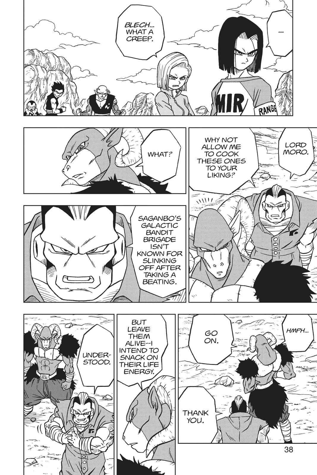 Dragon Ball Super Chapter 57 Page 39