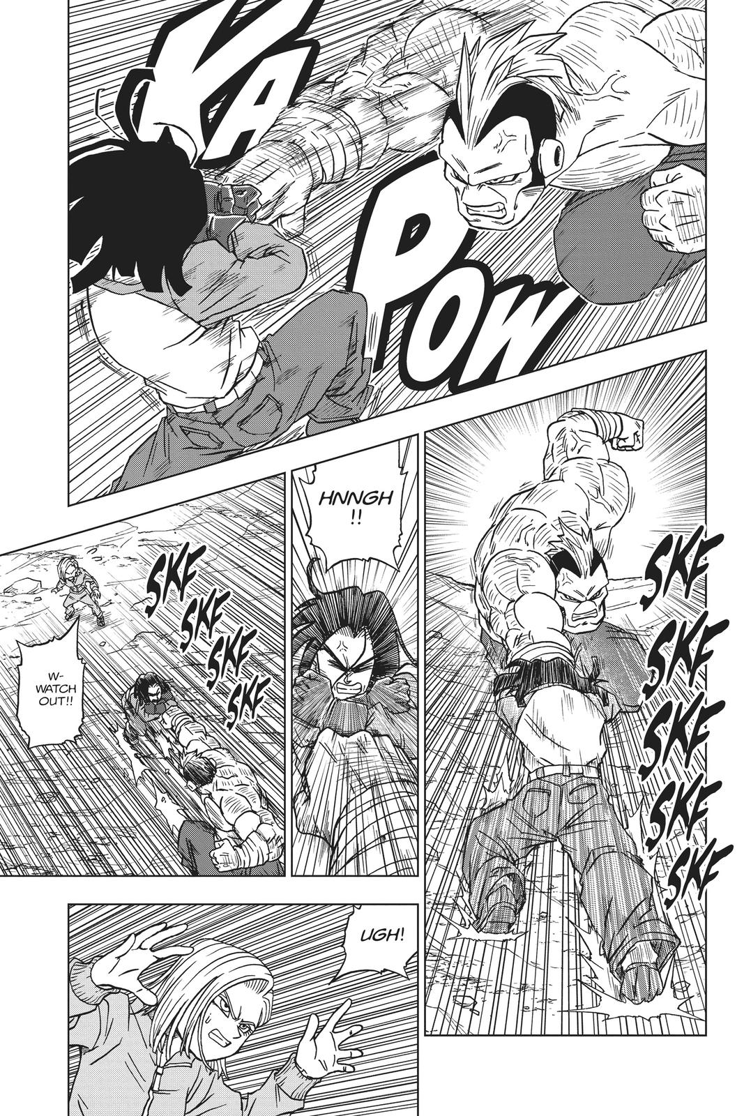 Dragon Ball Super Chapter 57 Page 42