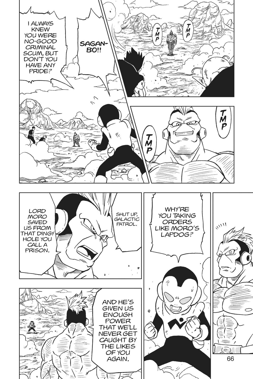 Dragon Ball Super Chapter 58 Page 14