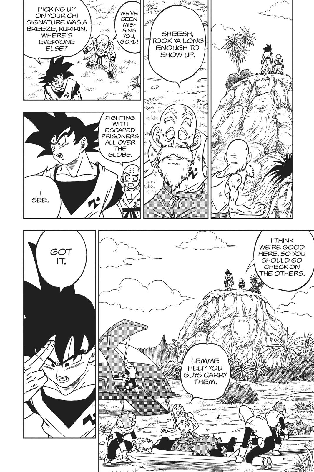 Dragon Ball Super Chapter 58 Page 2