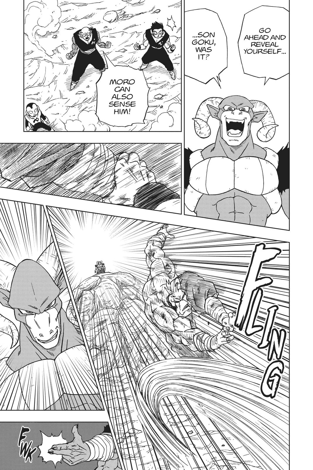 Dragon Ball Super Chapter 58 Page 21