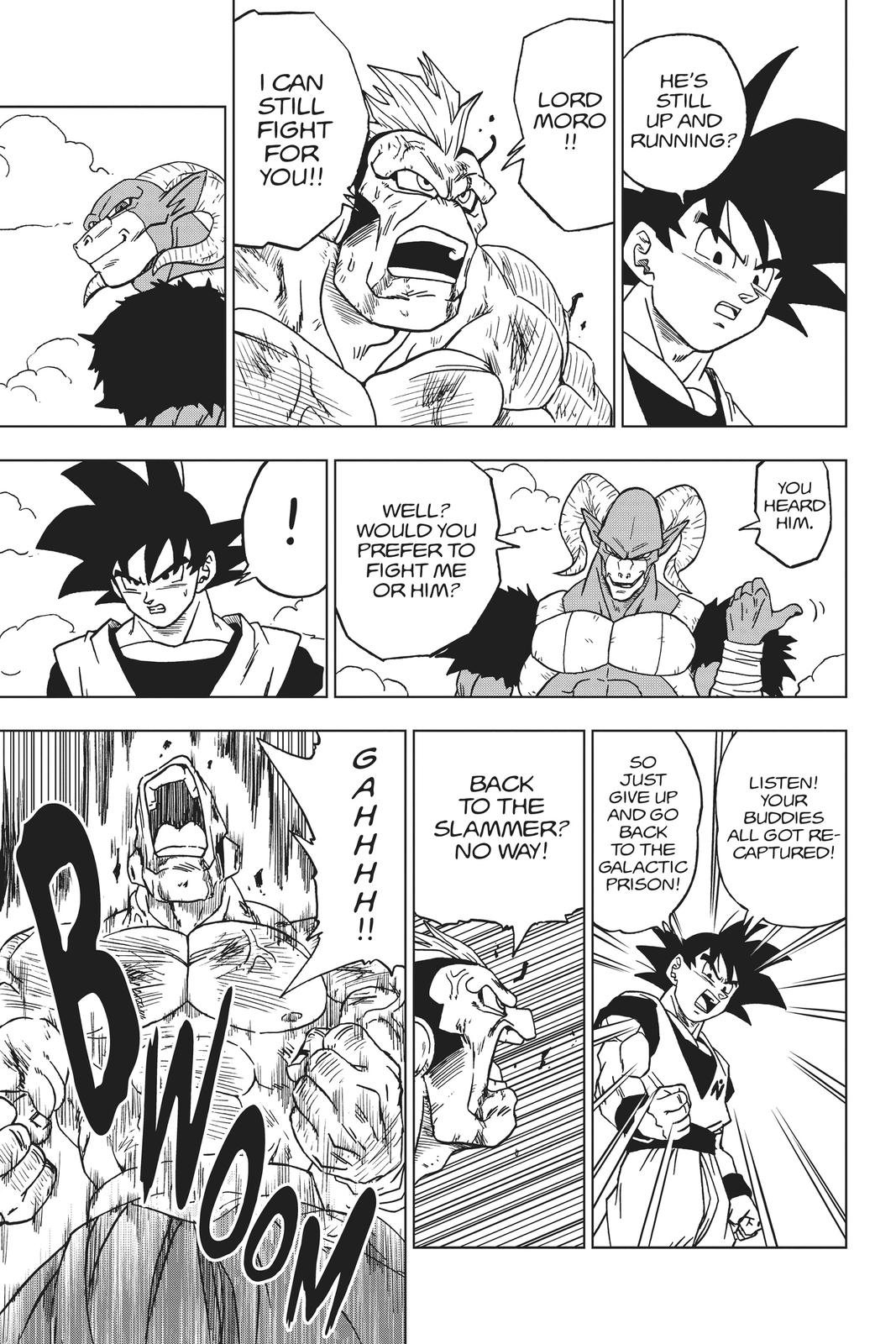 Dragon Ball Super Chapter 58 Page 25