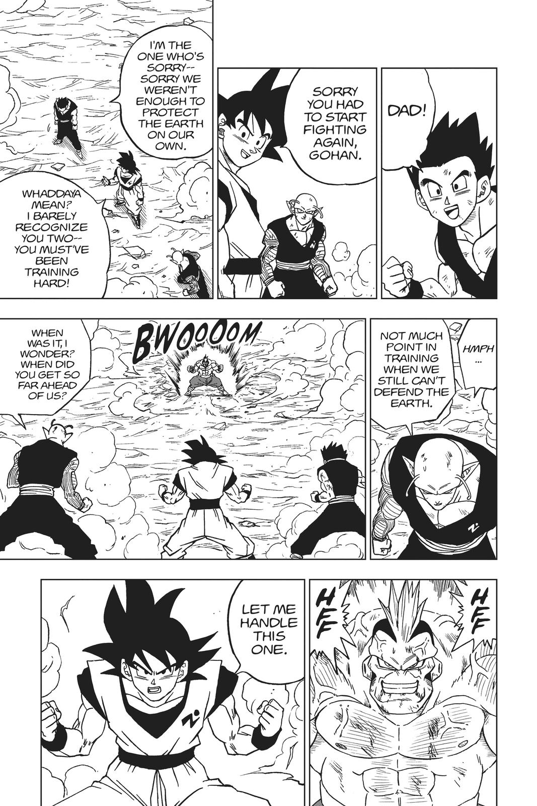 Dragon Ball Super Chapter 58 Page 27
