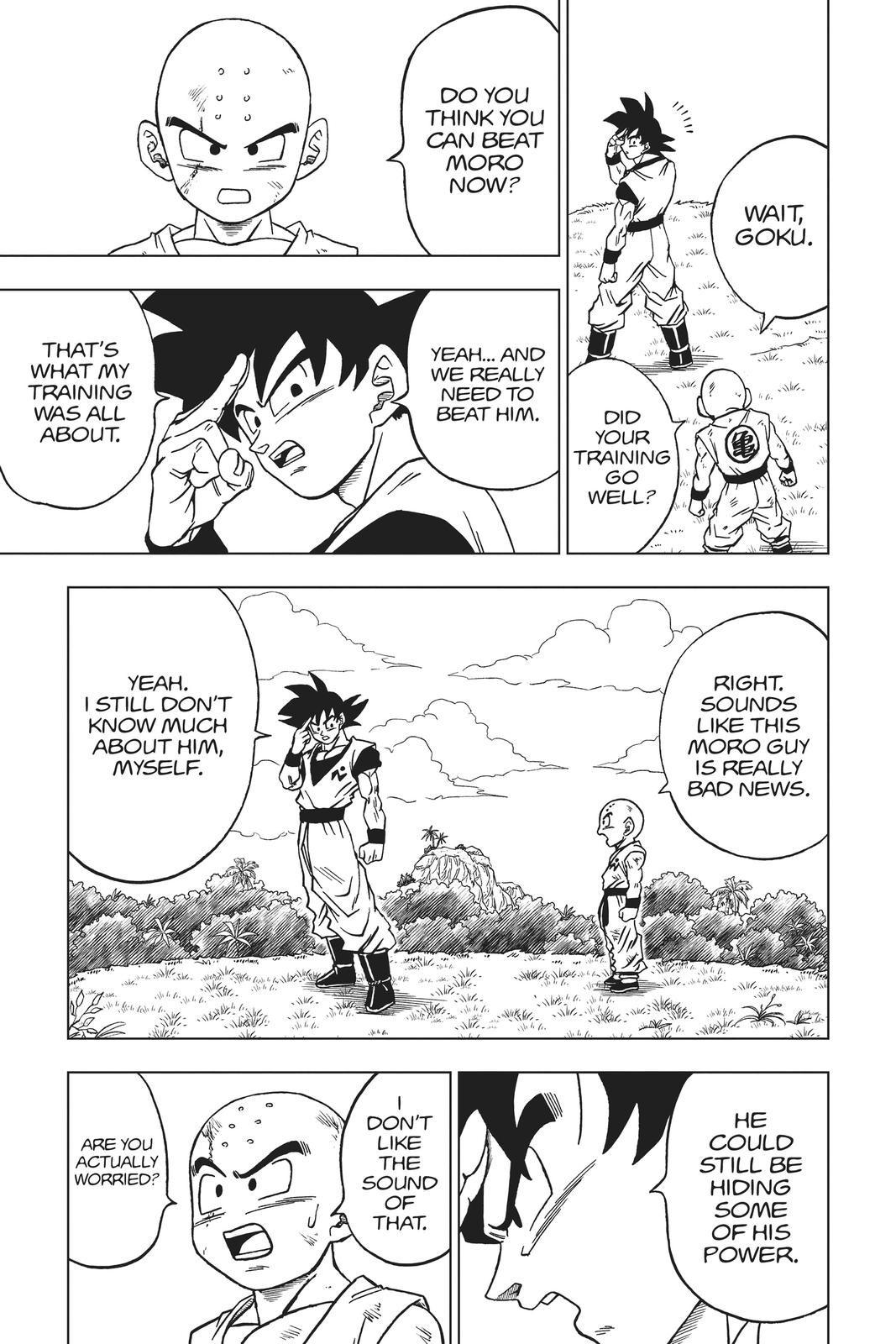 Dragon Ball Super Chapter 58 Page 3
