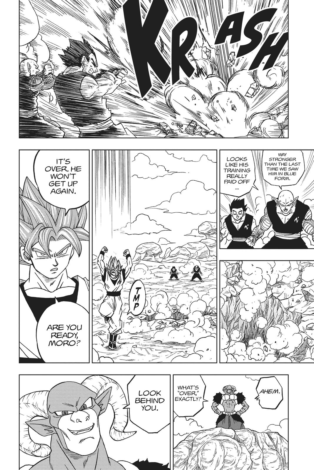 Dragon Ball Super Chapter 58 Page 34