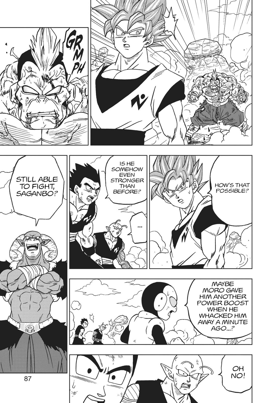 Dragon Ball Super Chapter 58 Page 35