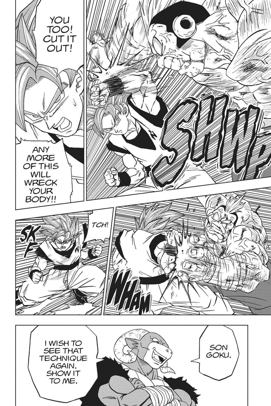 Dragon Ball Super Chapter 58 Page 38