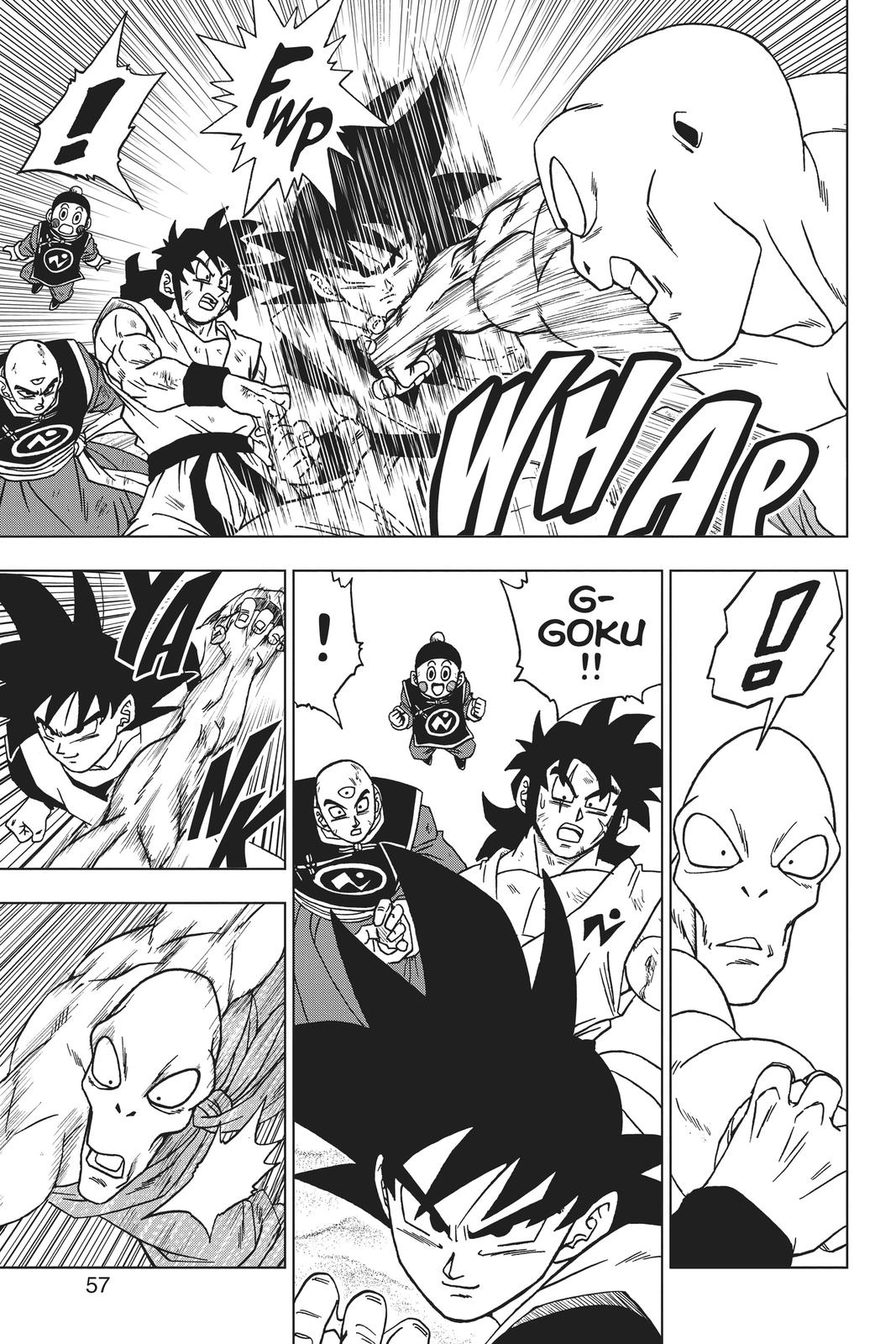 Dragon Ball Super Chapter 58 Page 5