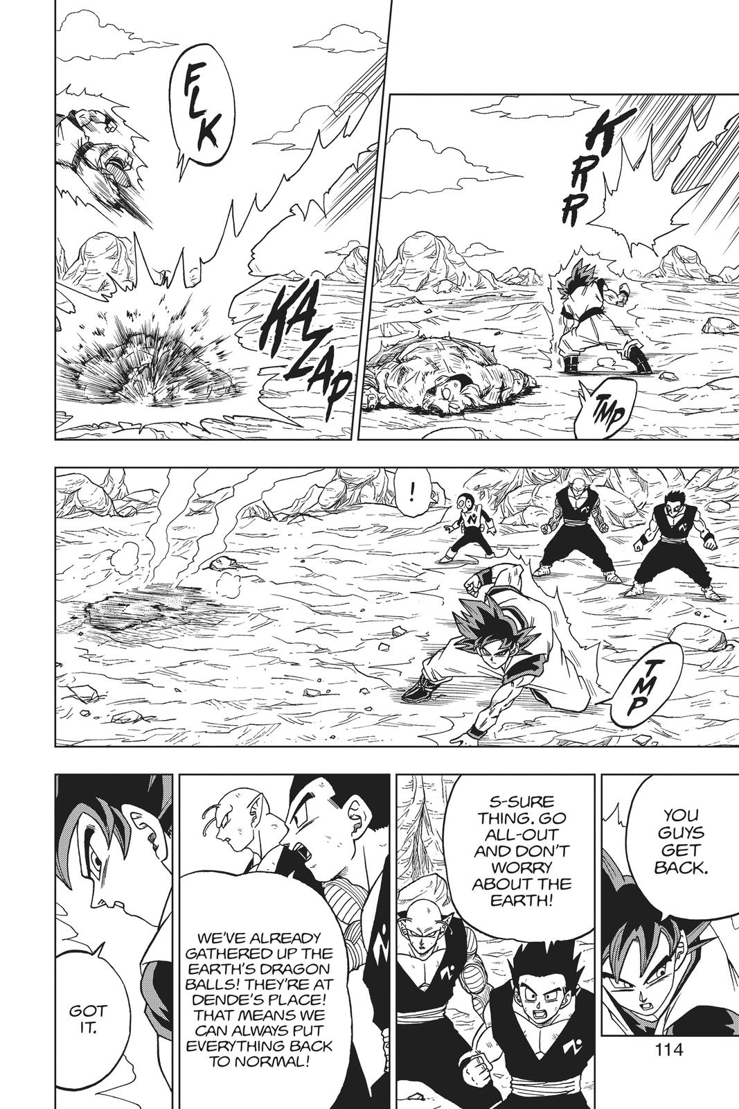 Dragon Ball Super Chapter 59 Page 16