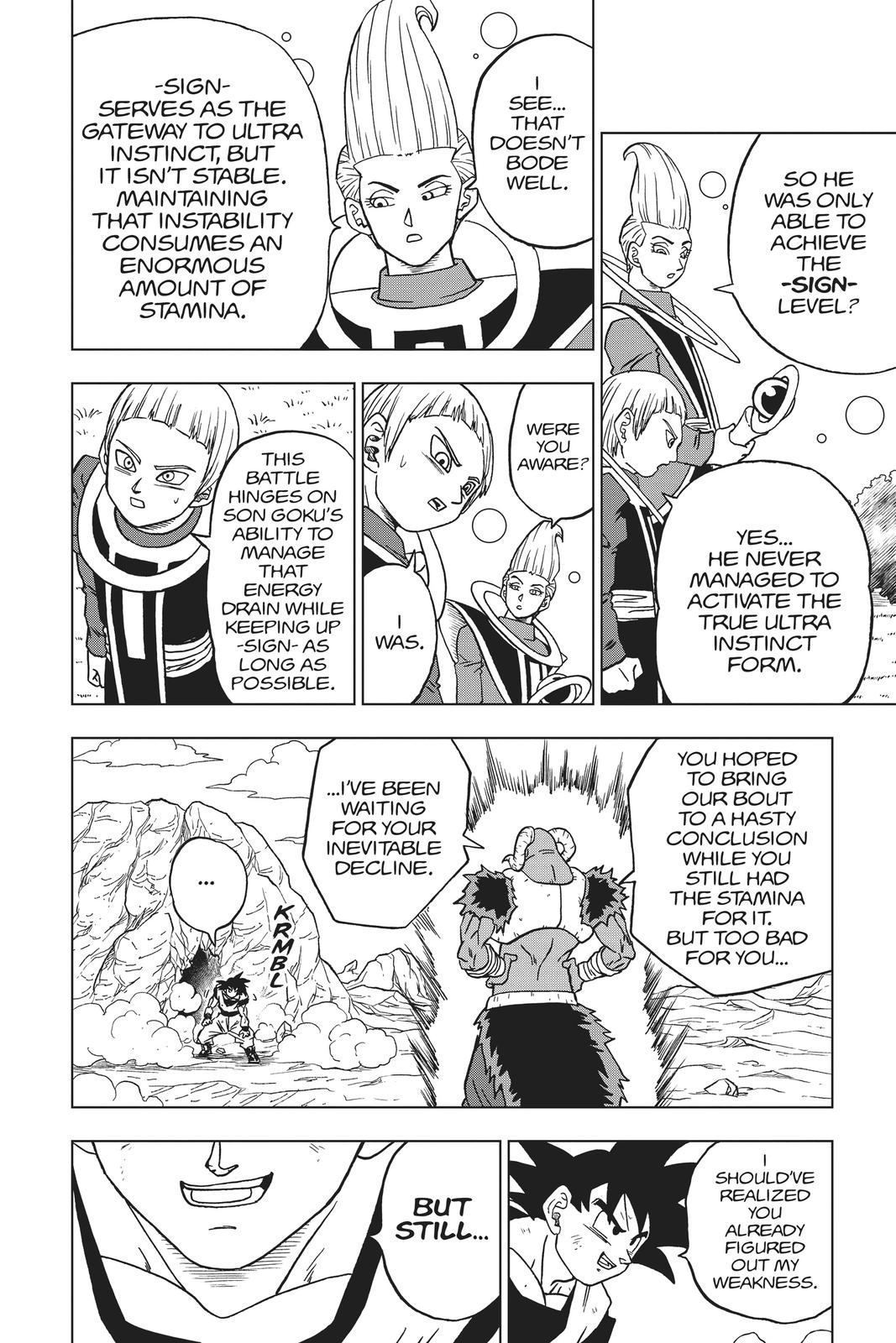 Dragon Ball Super Chapter 59 Page 44
