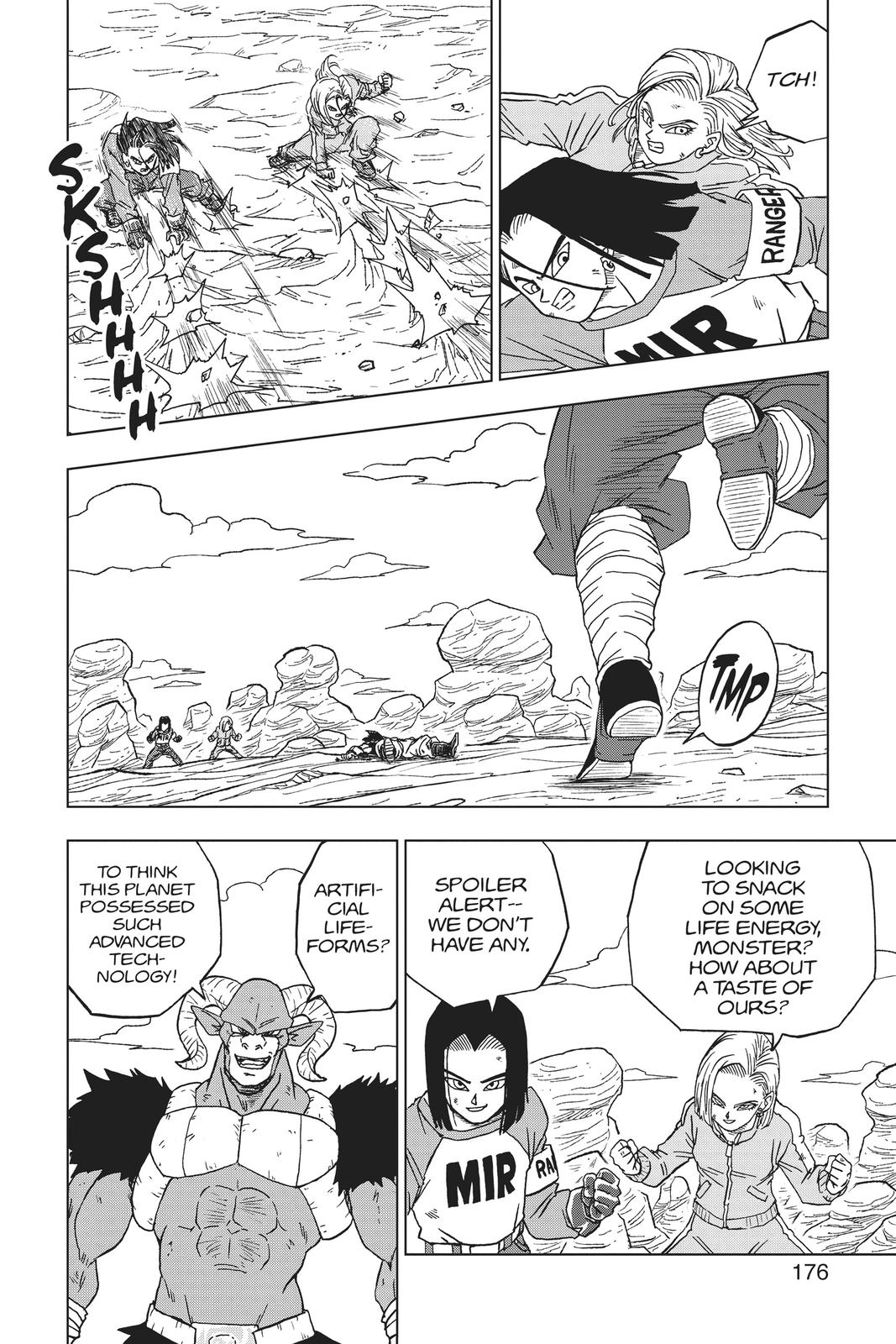 Dragon Ball Super Chapter 60 Page 32