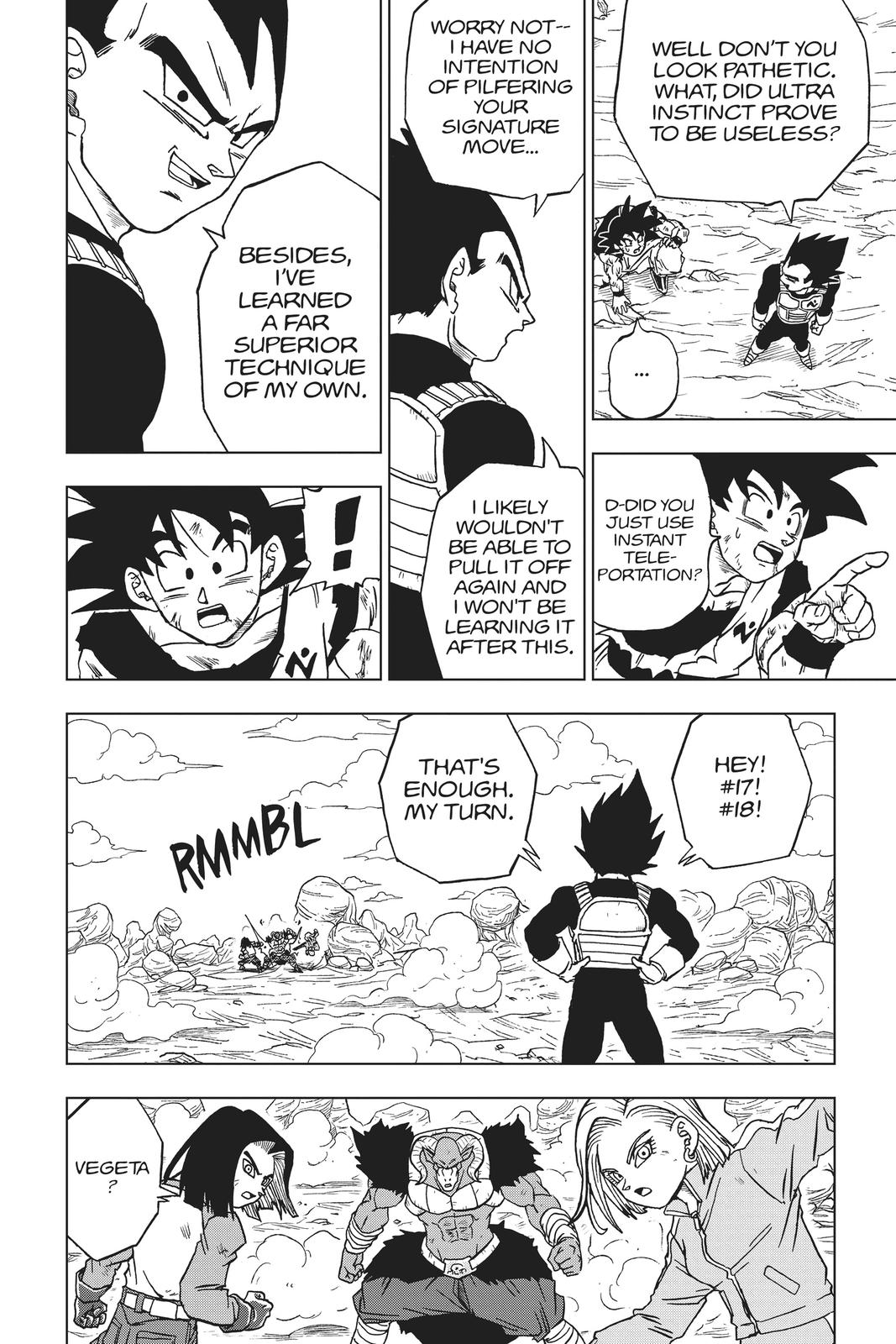 Dragon Ball Super Chapter 60 Page 42