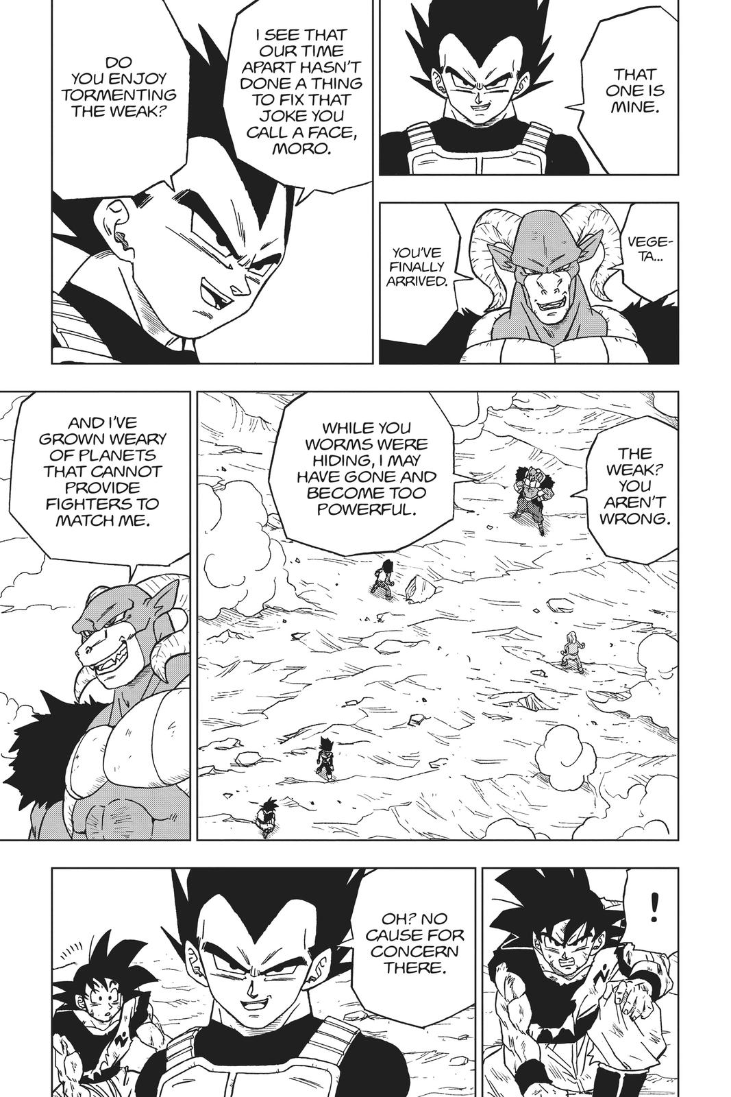 Dragon Ball Super Chapter 60 Page 43