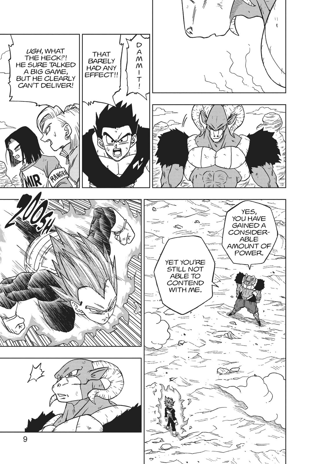 Dragon Ball Super Chapter 61 Page 10