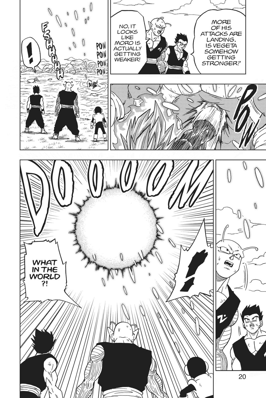 Dragon Ball Super Chapter 61 Page 21