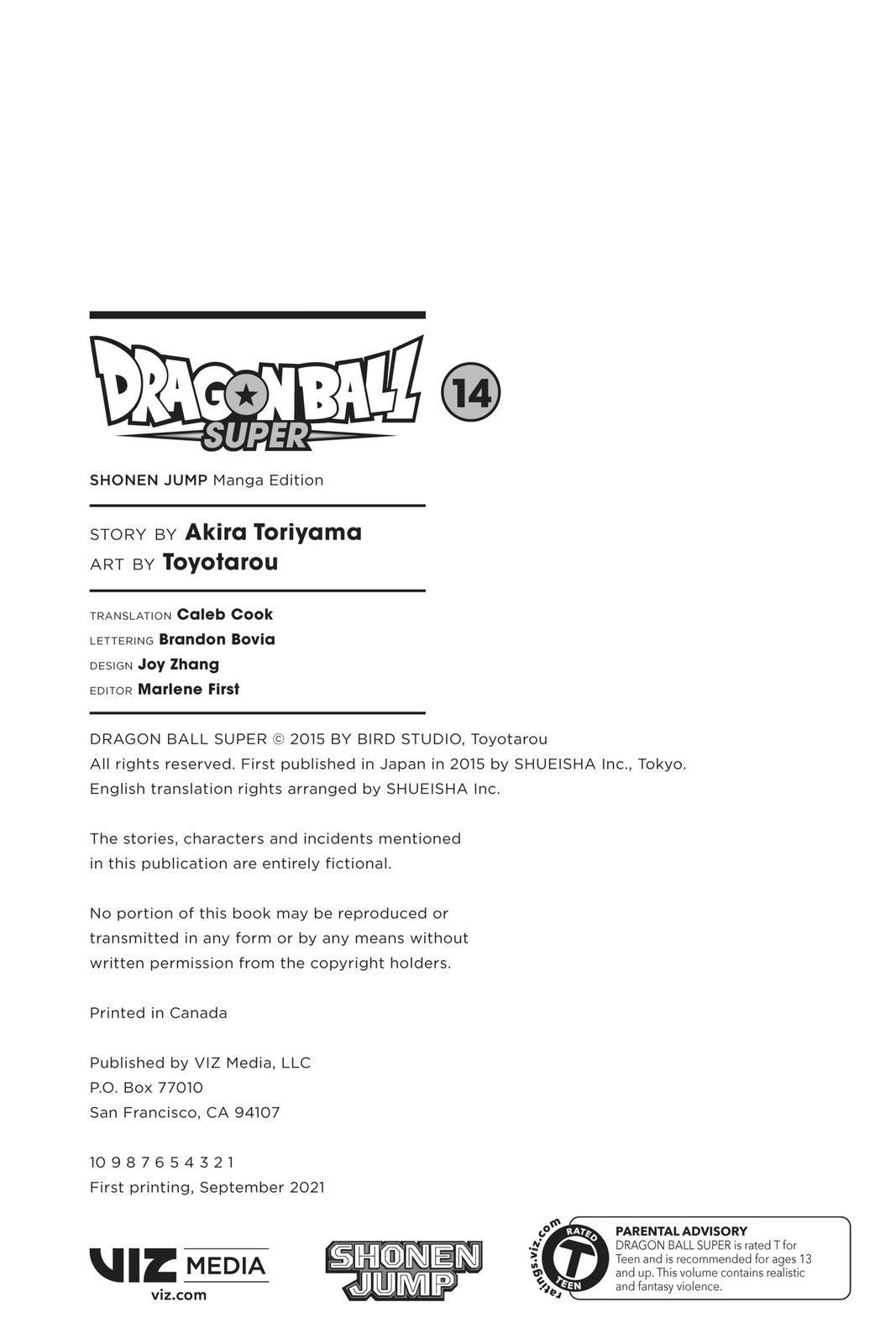 Dragon Ball Super Chapter 61 Page 3