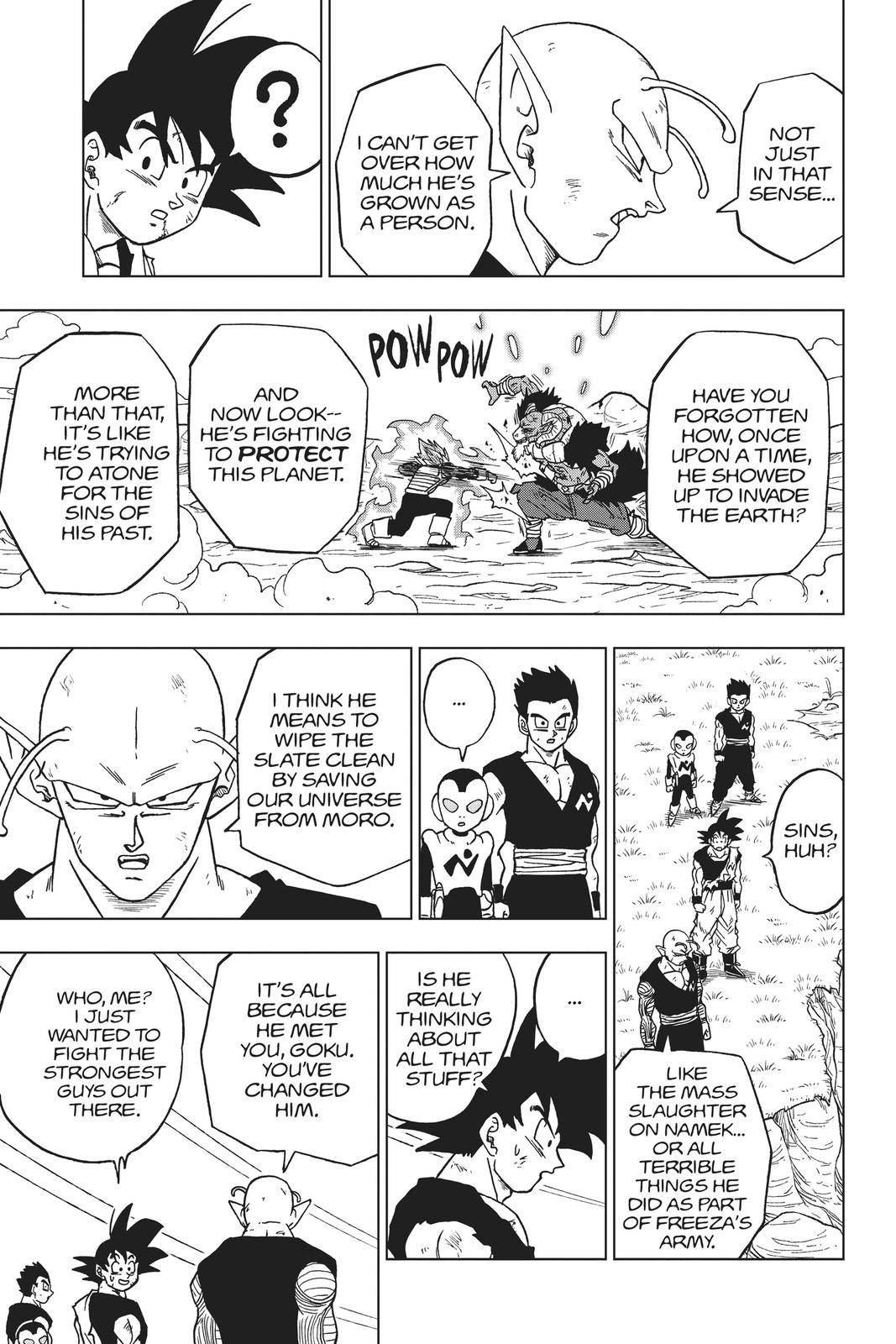 Dragon Ball Super Chapter 61 Page 36