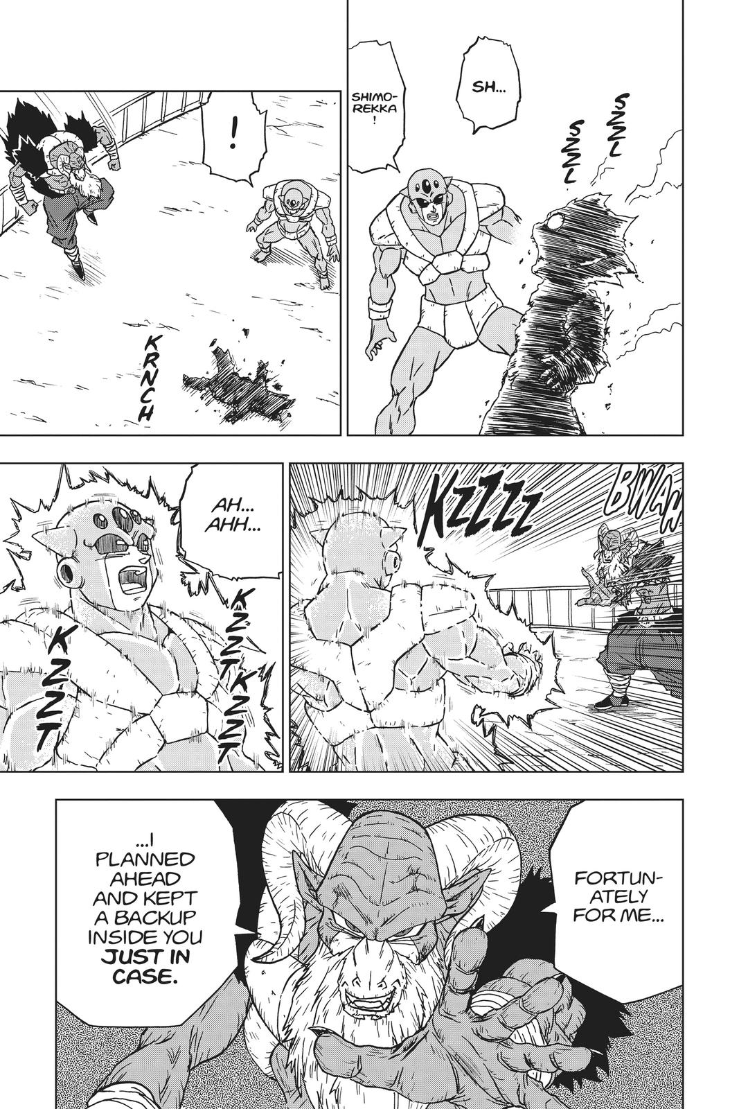 Dragon Ball Super Chapter 61 Page 44