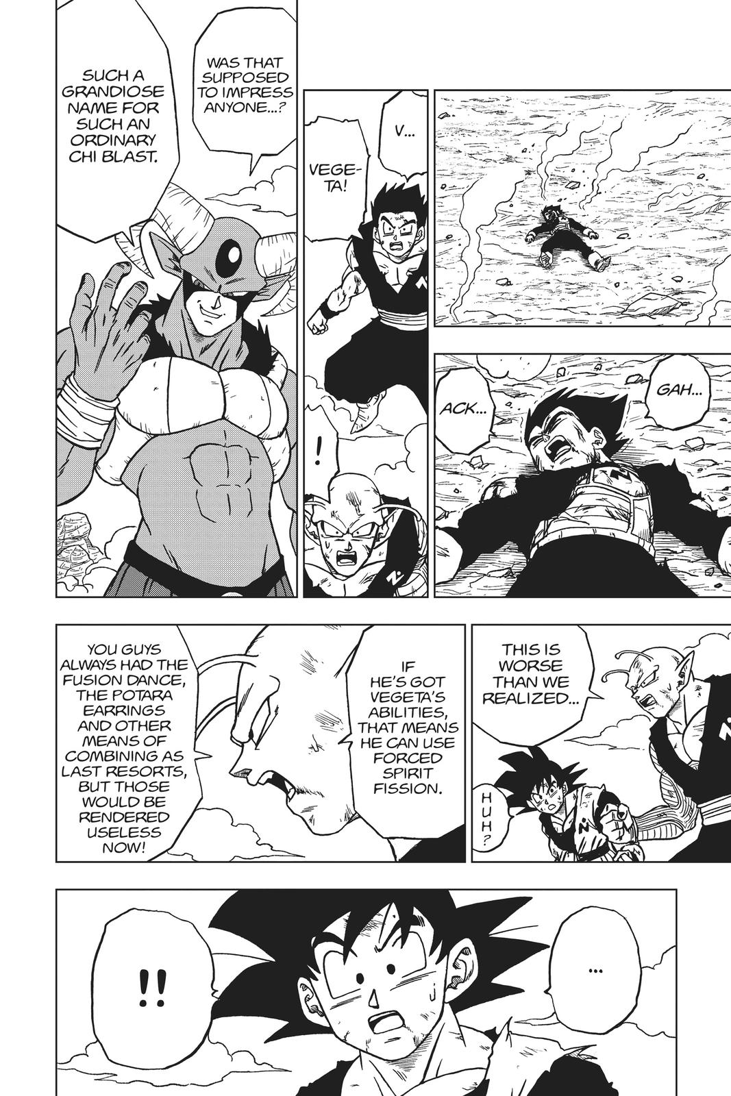 Dragon Ball Super Chapter 62 Page 12