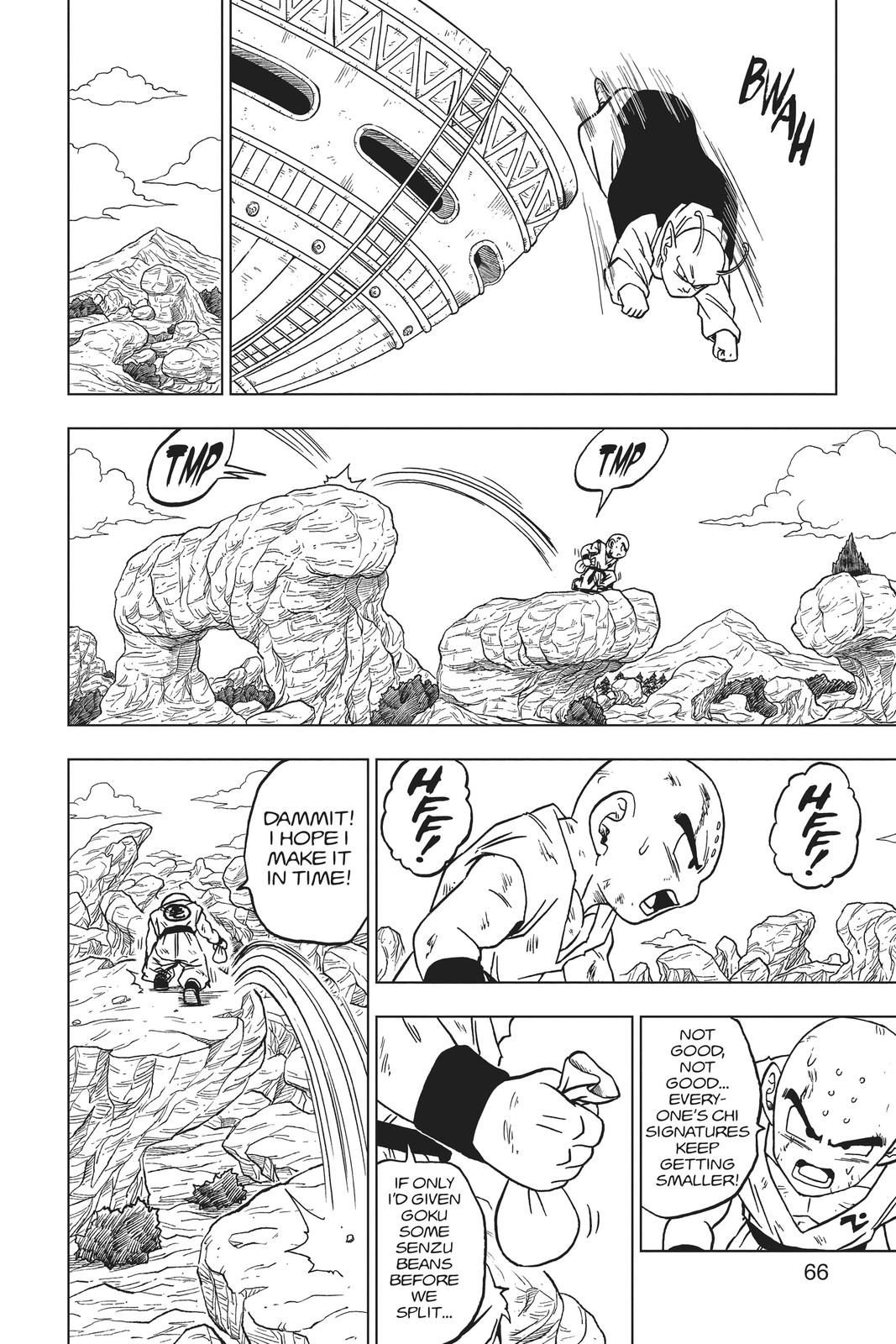 Dragon Ball Super Chapter 62 Page 14